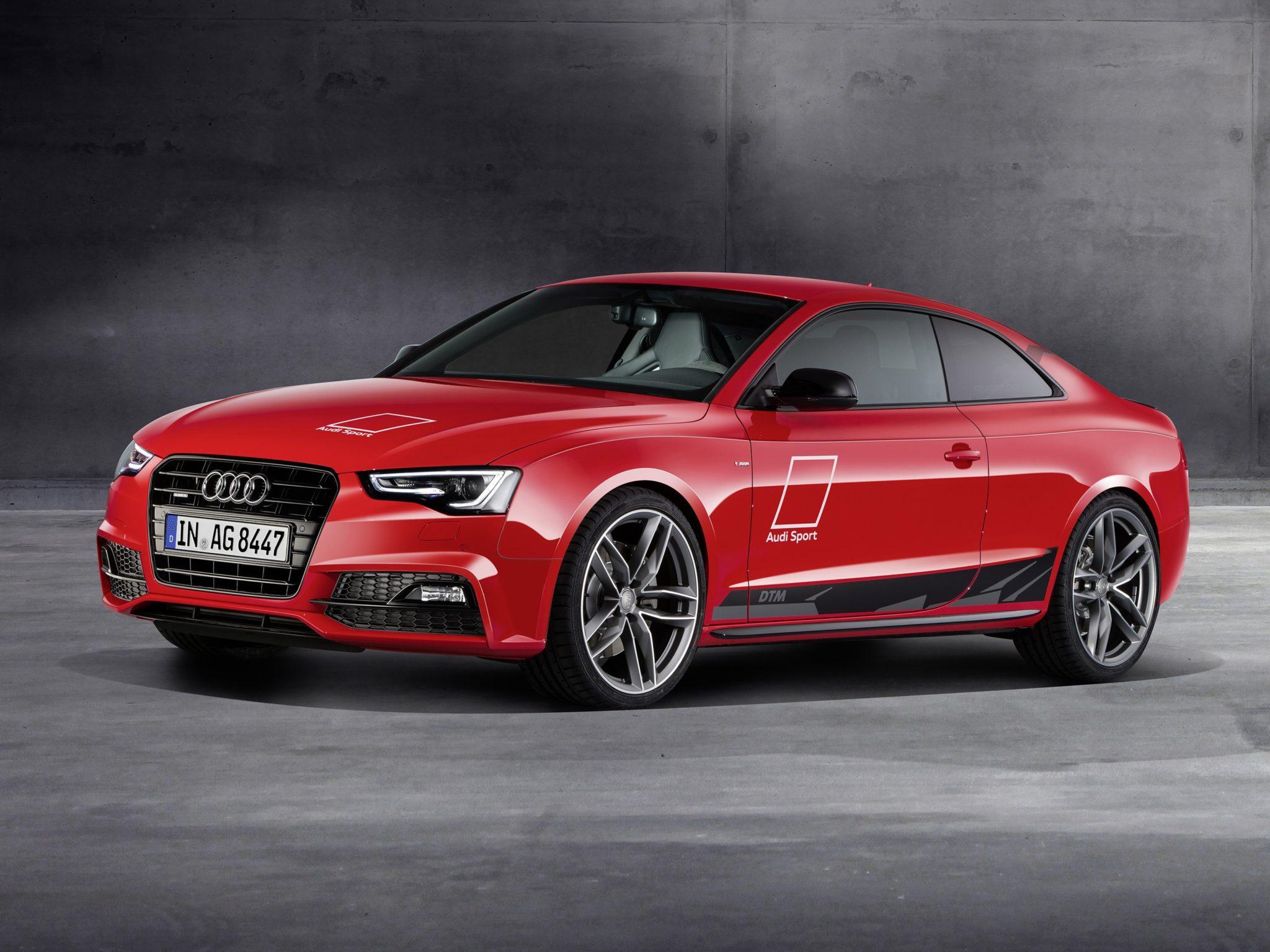 2015 Audi A5 Coupe DTM Selection