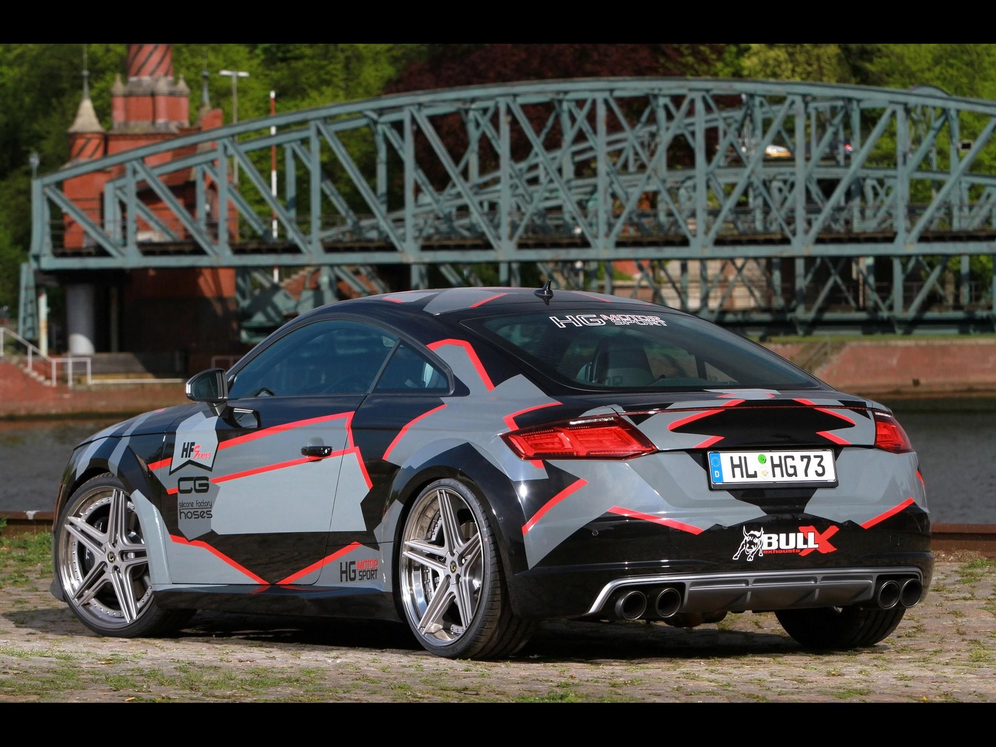 Audi TTS 2015 - HG Motorsport