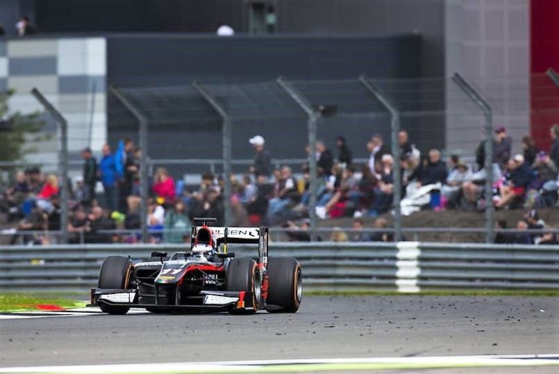 2016 GP2 Series Silverstone Gustav Malja
