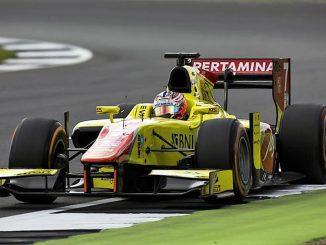 2016 GP2 Series Silverstone Mitch Evans