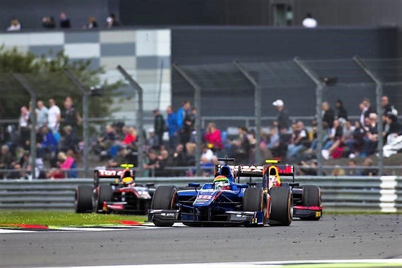 2016 GP2 Series Silverstone Sergio Canamasas