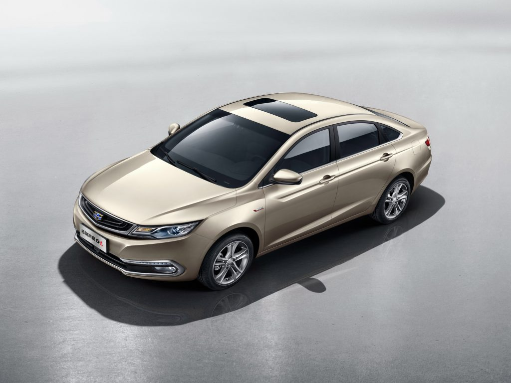 2016 Geely Emgrand GL