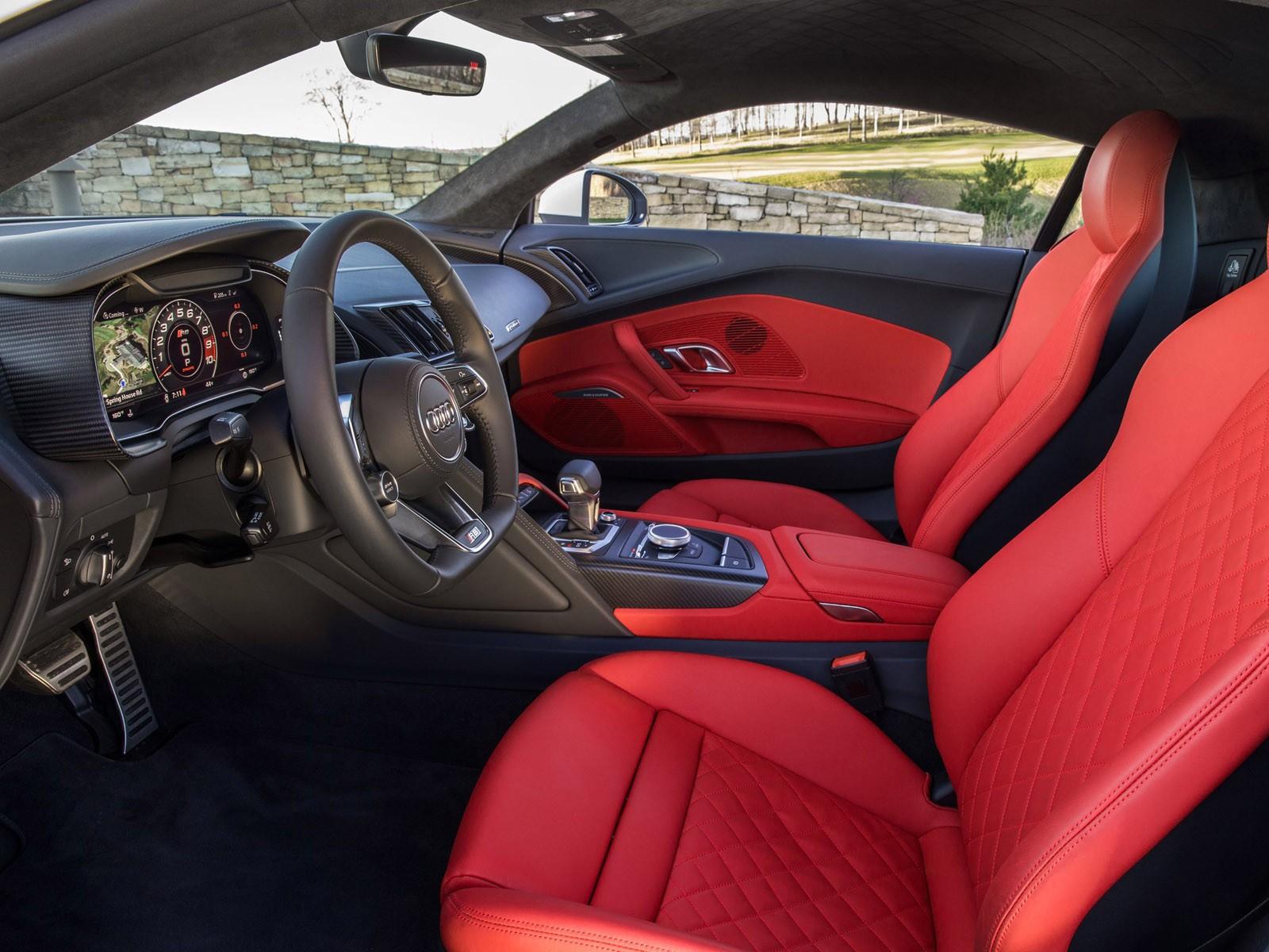 Audi R8 V10 Plus USA 2016