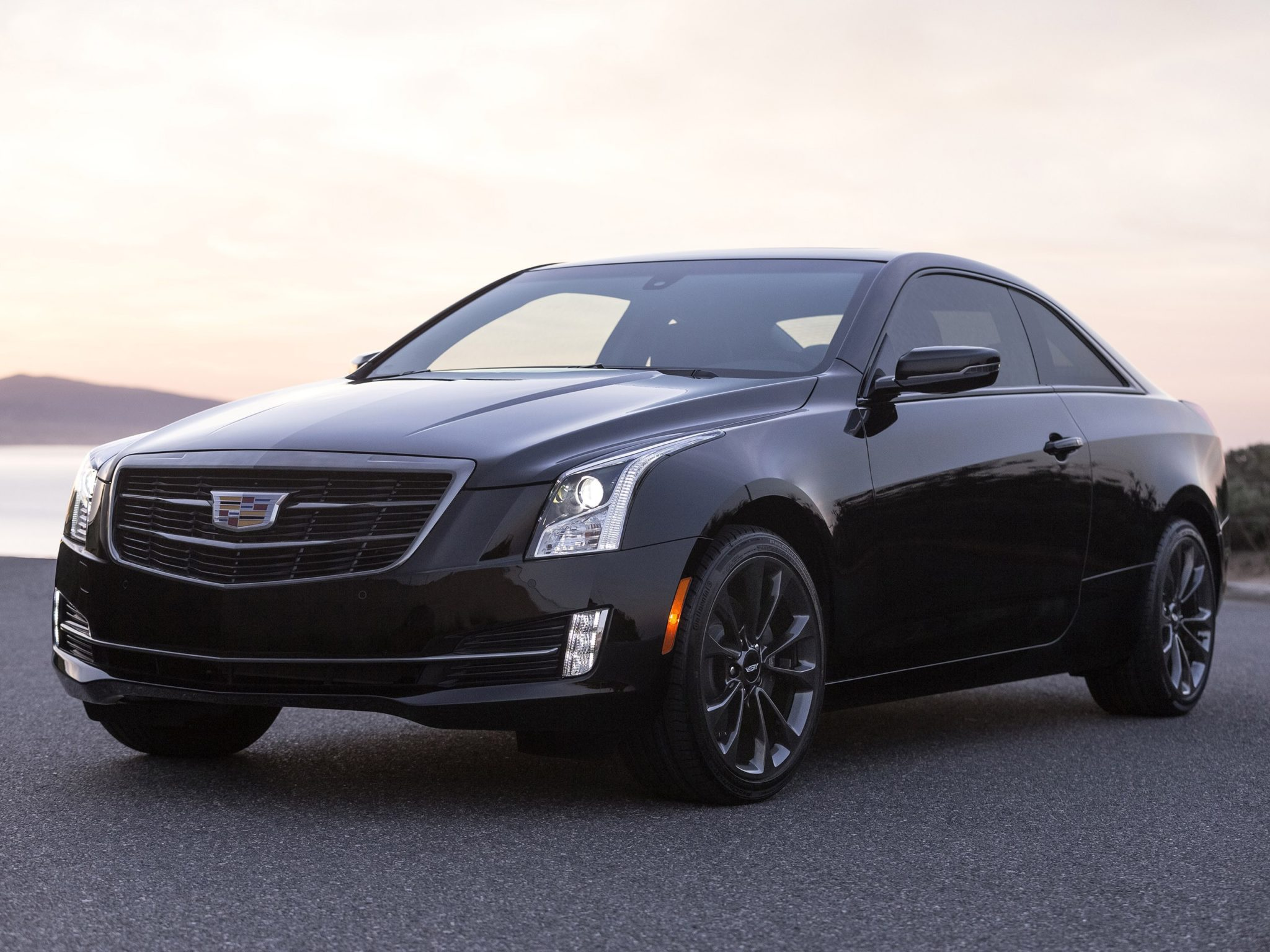 2016 Cadillac ATS Coupe Black Chrome