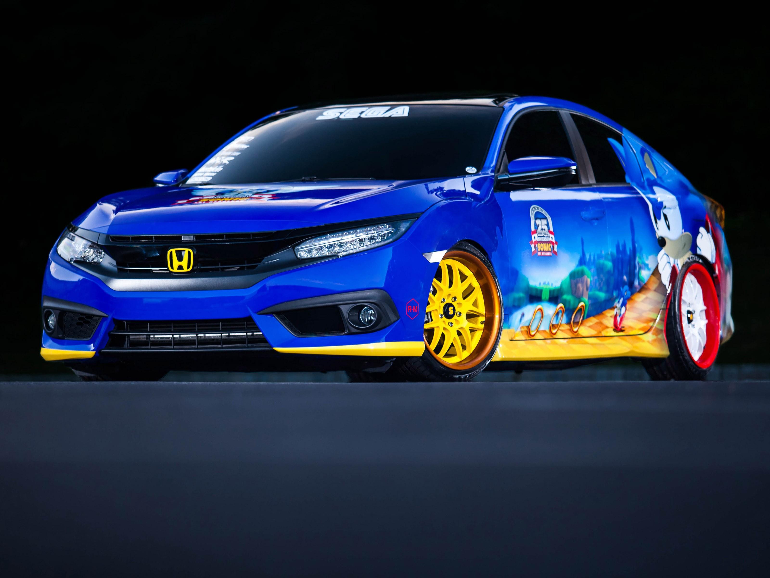 2016 Honda Sonic Civic Sedan
