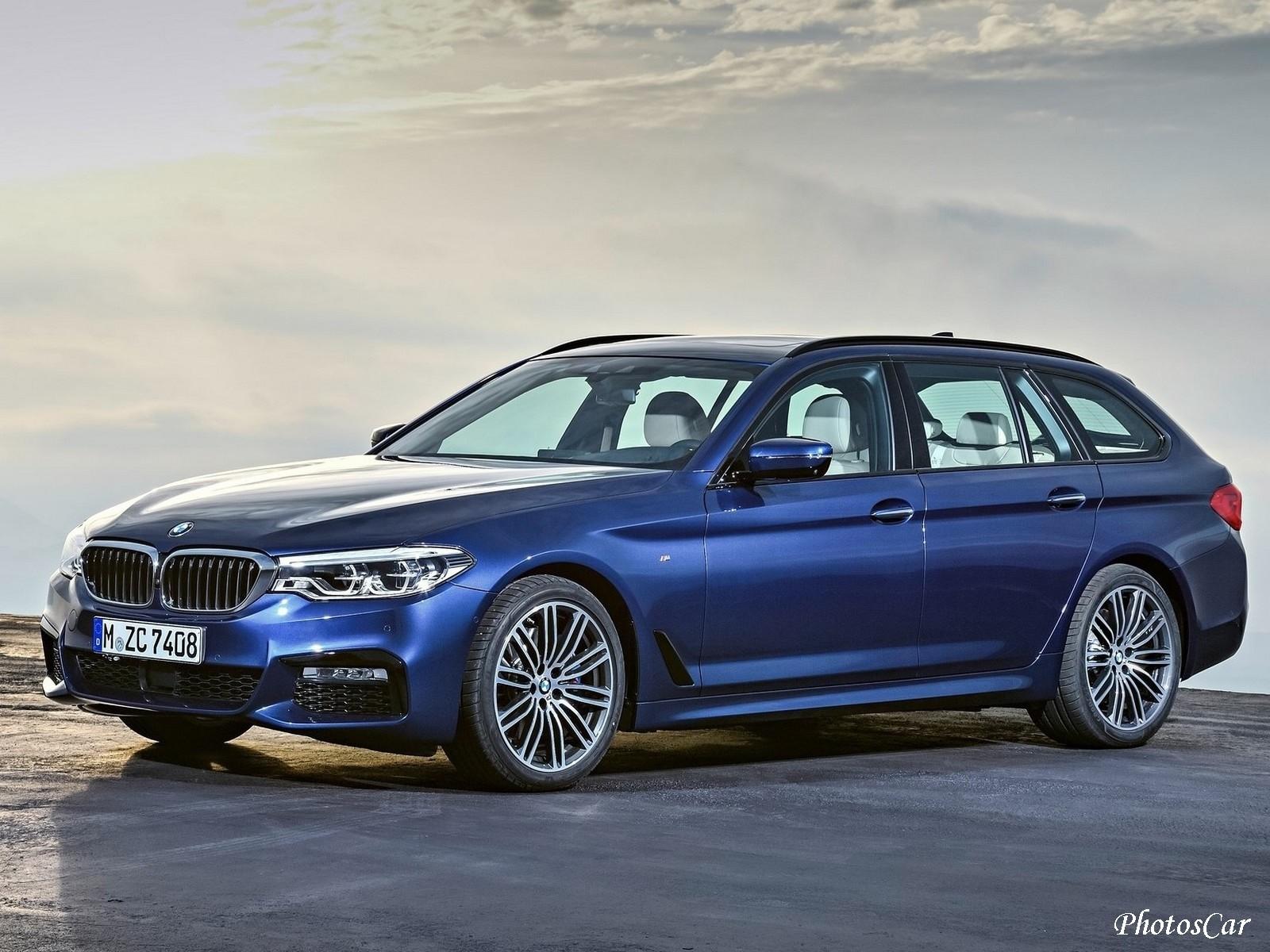 BMW Serie 5 Touring 2018: Photos et Vidéo du nouveau break – Photoscar