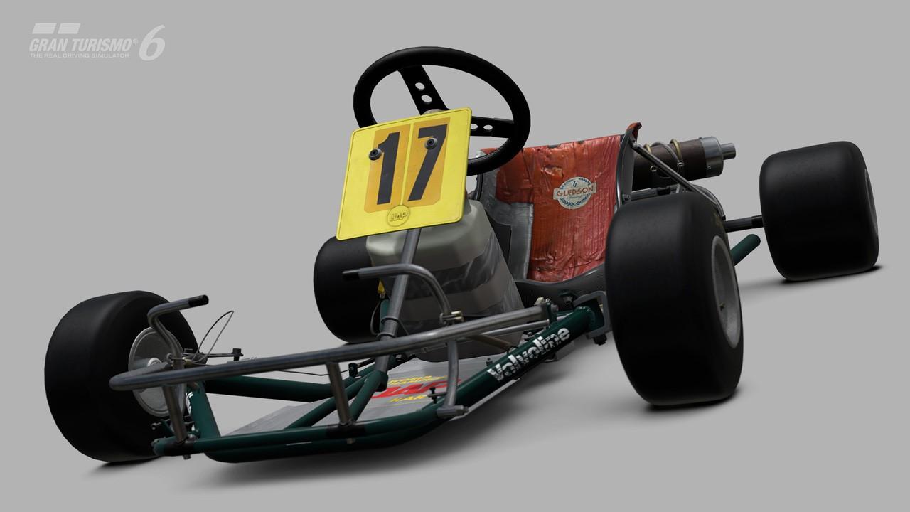 Ayrton Senna - DAP Racing Kart
