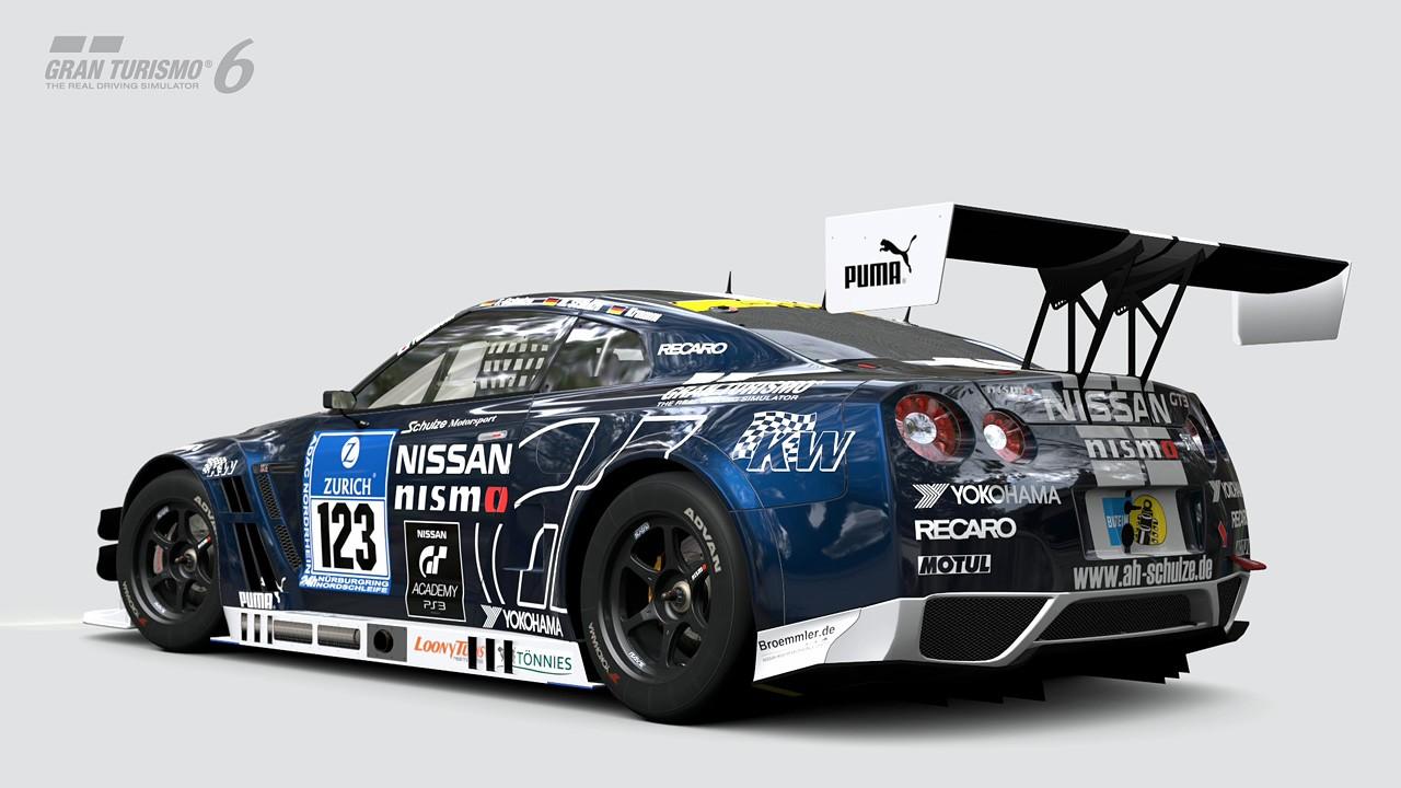 Nissan GT-R NISMO GT3 N24 Schulze Motorsport