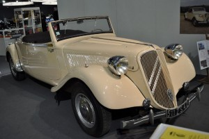 Retromobile Citroën Traction Avant 15-6 Cabriolet - 1939
