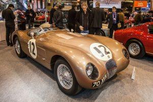 Jaguar C-Type - JD Classics stand
