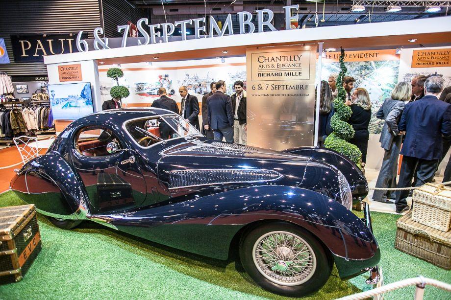 Talbot-Lago T150S - Richard Mille stand