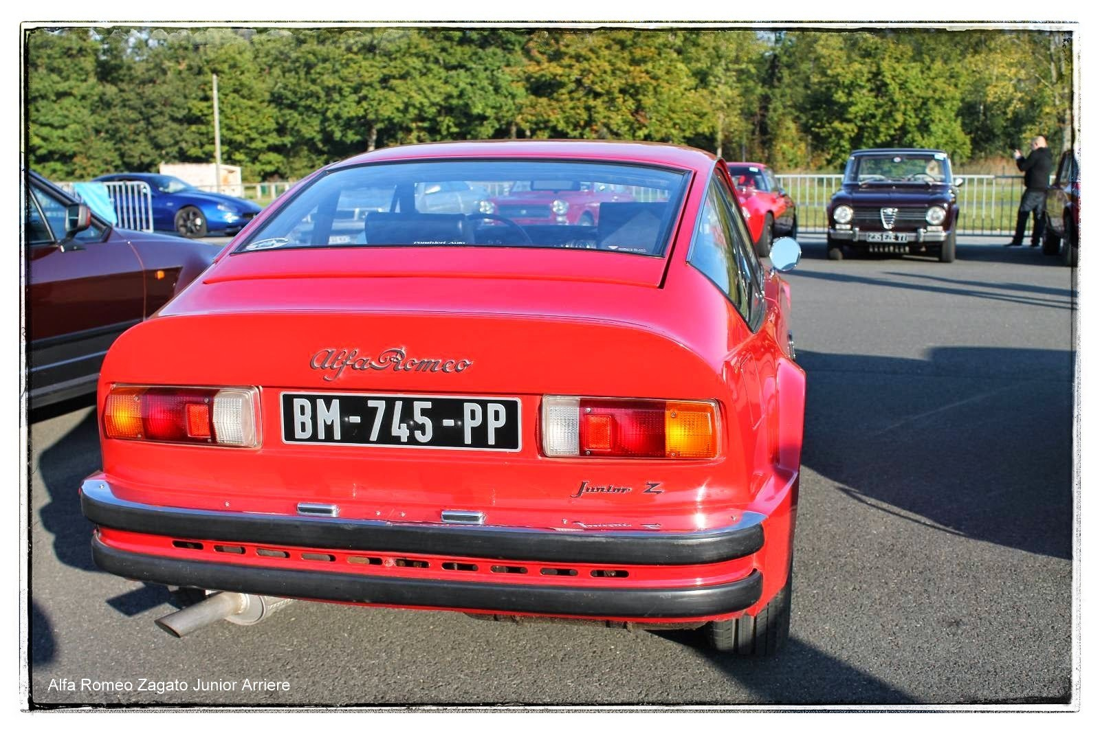 italian meeting - Alfa Romeo Zagato Junior