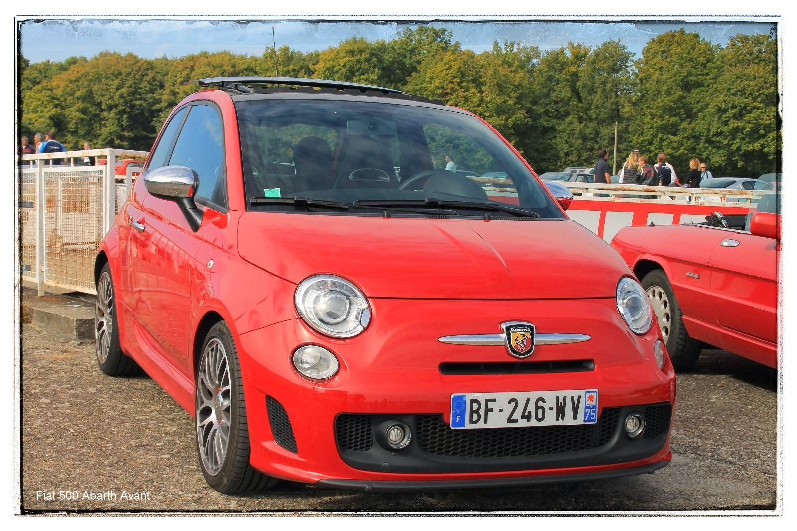 Fiat 500 Abarth Avant Italian Meeting