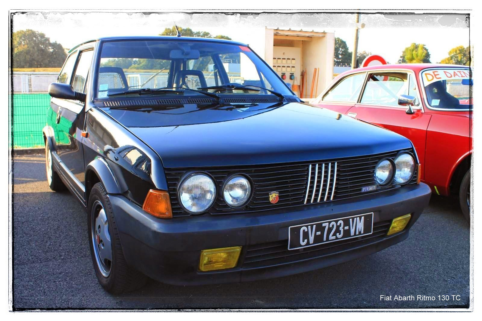 italian meeting - Fiat Abarth Ritmo 130 TC