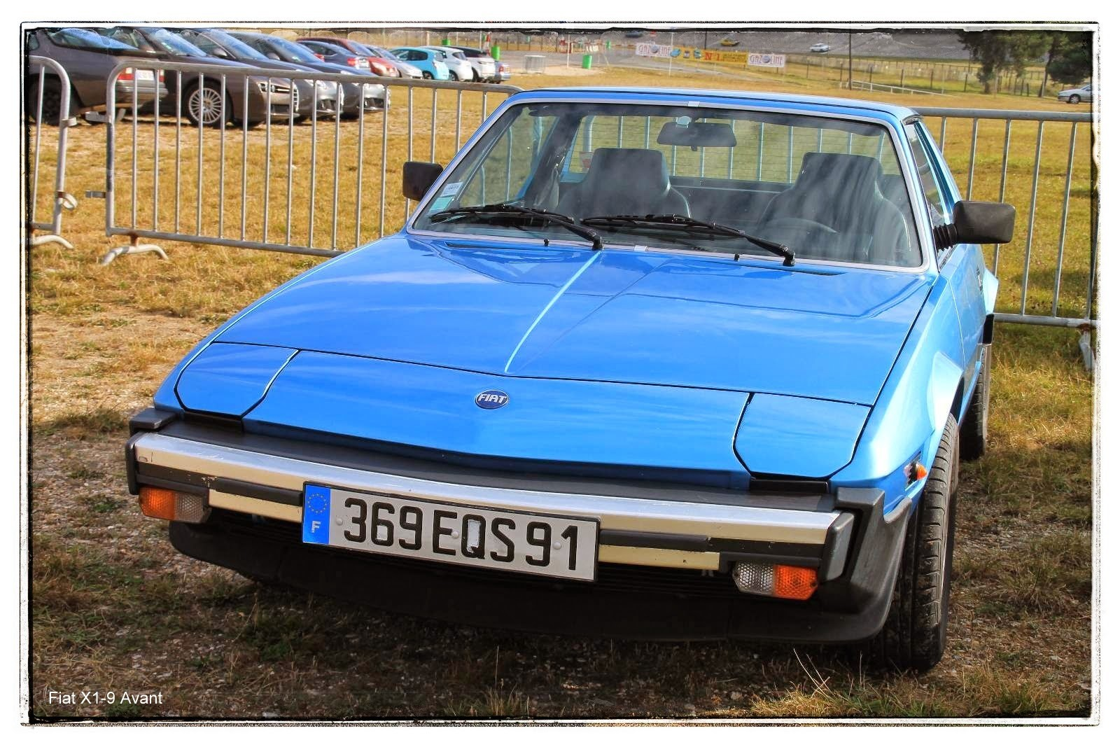 italian meeting - Fiat X1/9 Spider