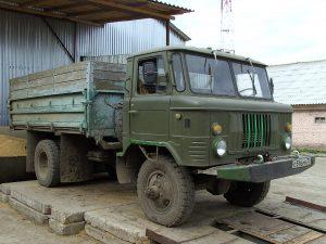 Gaz 66 truck