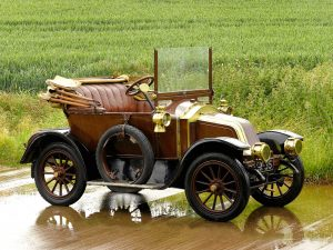 1909 Renault Type AX 8 CV by Rippon