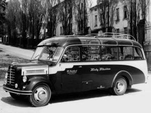 1954-57 Borgward B 2500 Kassbohrer Kleinbus