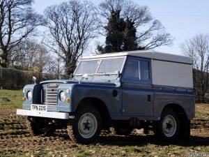 1971 Land Rover Series III SWB Van