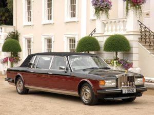 1989 Rolls Royce Silver Spirit Emperor State Landaulet by Hooper