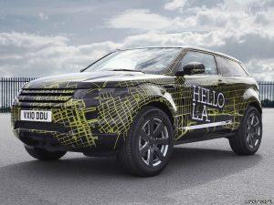 2010 Land Rover Evoque Prototype Camo