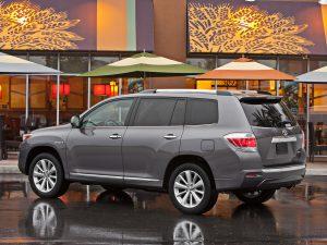 2010 Toyota Highlander Hybrid USA
