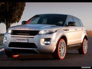 2011 Land Rover Range Rover Evoque Marangoni