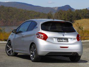 Peugeot 208 3 Door Australia 2012