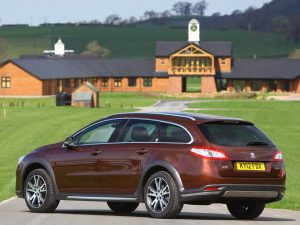 Peugeot 508 RXH UK 2012