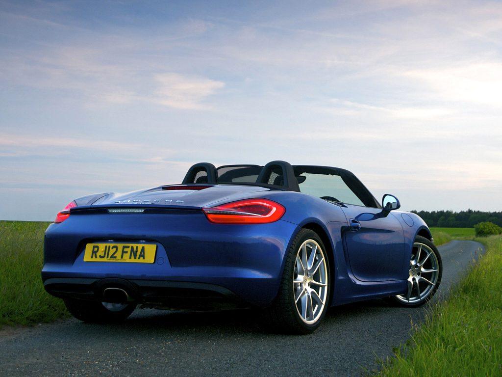 2012 Porsche Boxster 981 UK Arriere