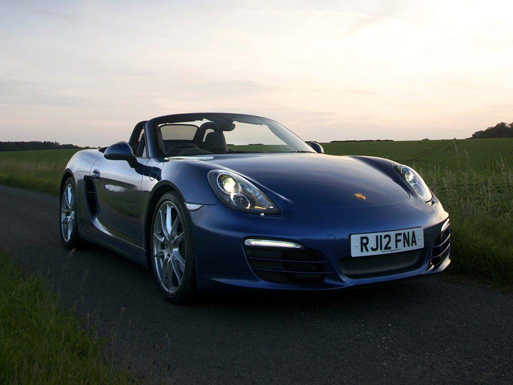 2012 Porsche Boxster 981 UK