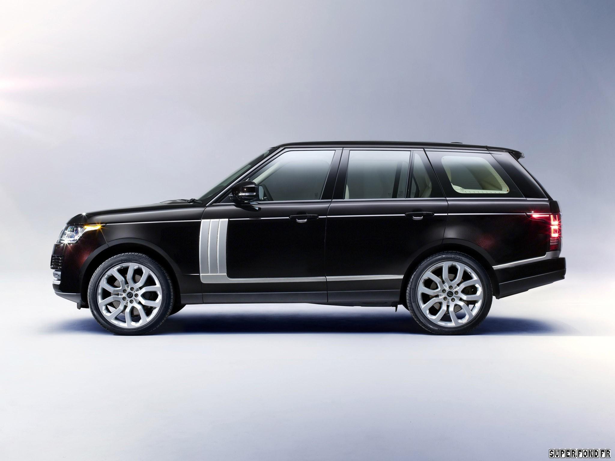 2013 Land Rover Range Rover Vogue UK