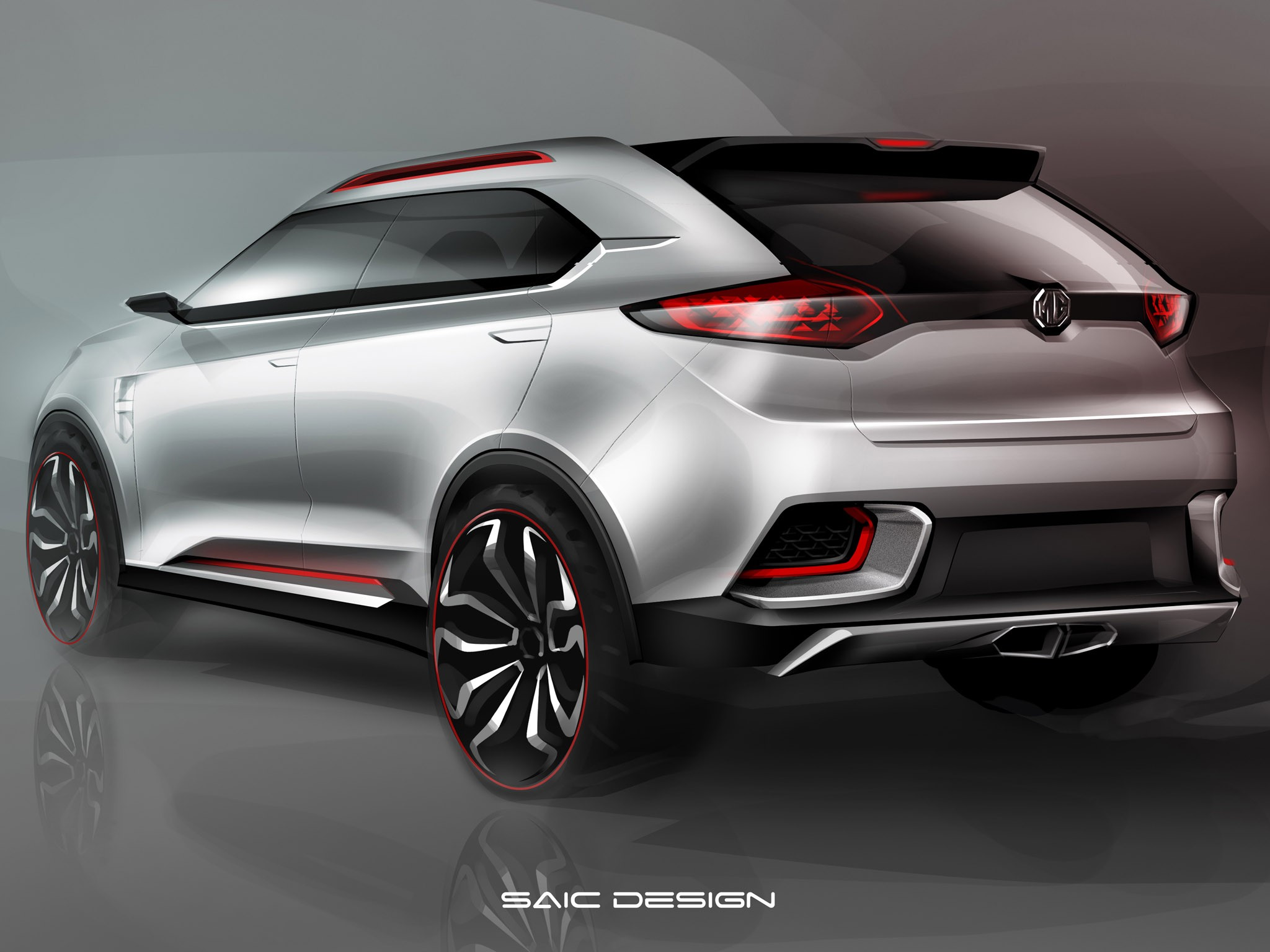 2013 MG CS Urban suv Concept