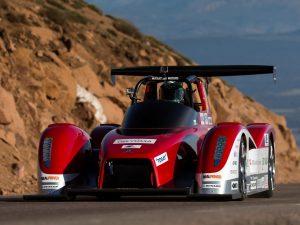 2013 Mitsubishi Miev Evolution II All Electric Race Car Pikes Peak