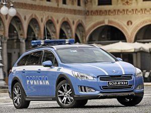 2014 Peugeot 508 RXH Polizia