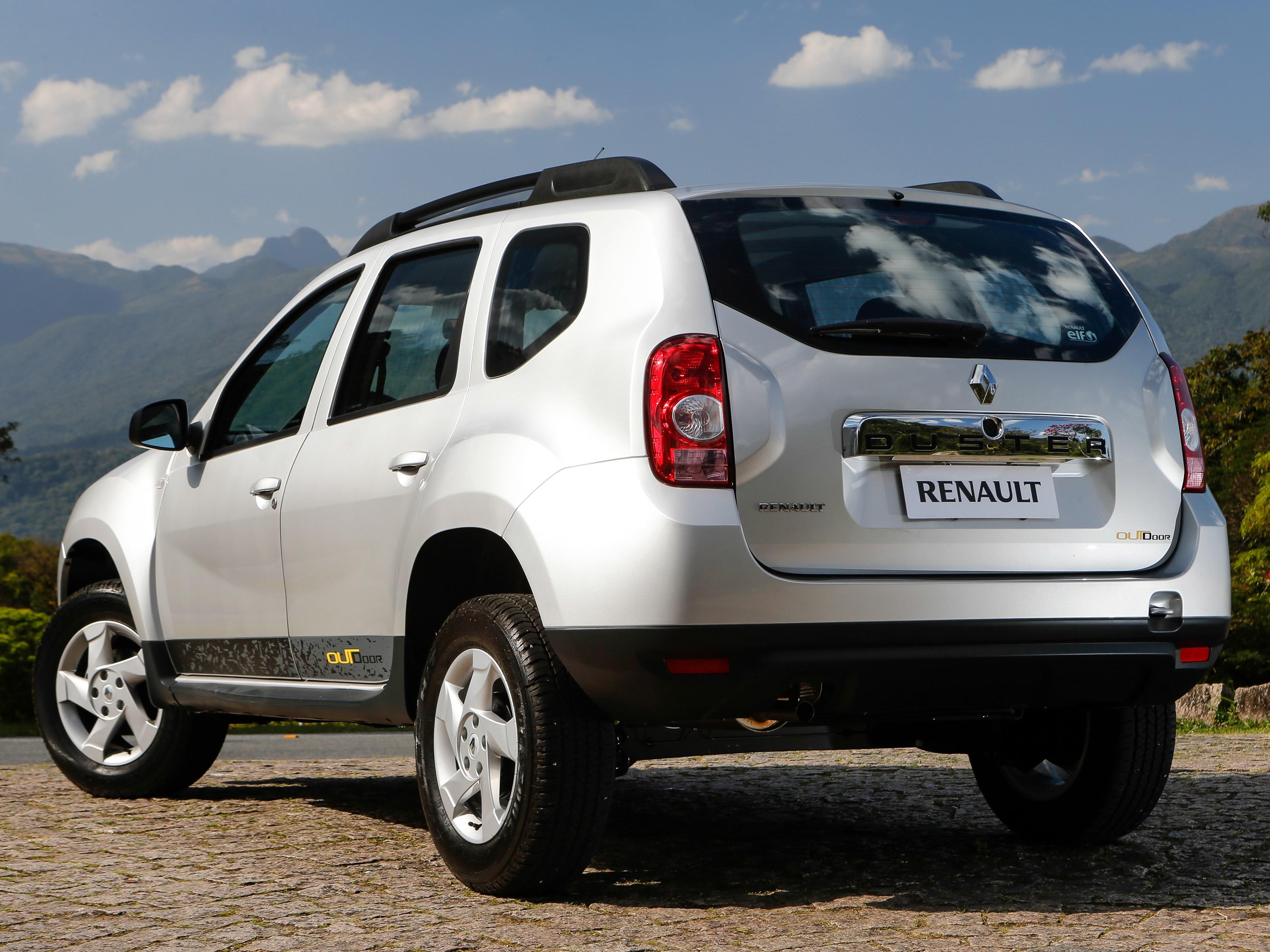 2014 Renault Duster Outdoor Brazil