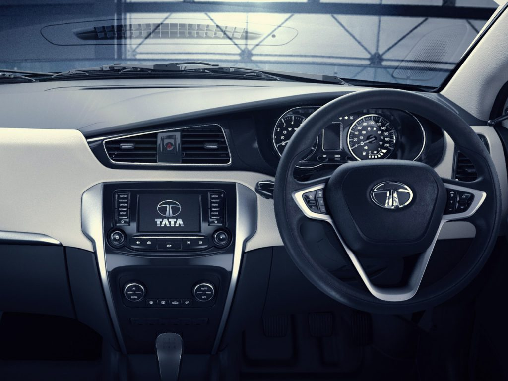 2014 Tata Zest Dashboard