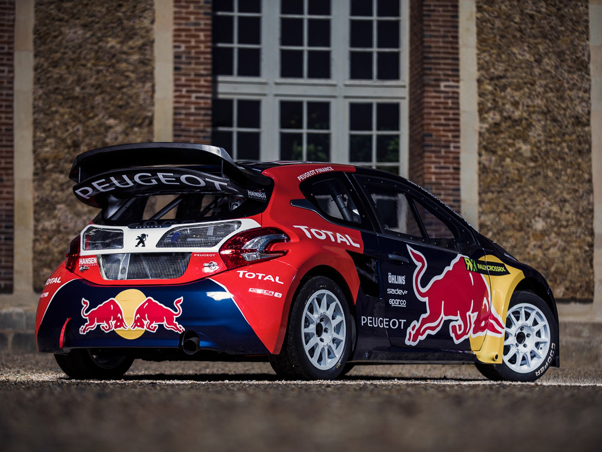 2015 Peugeot 208 Rally Car