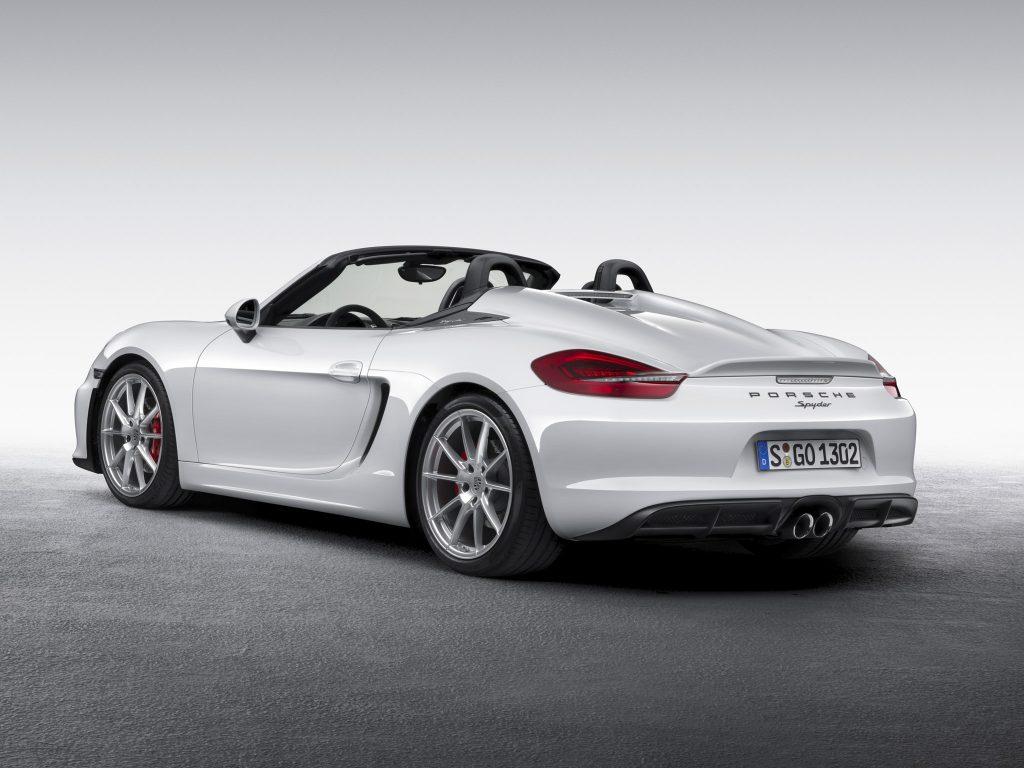 2015 Porsche Boxster Spyder 981