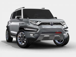 2015 Ssangyong XAV Concept