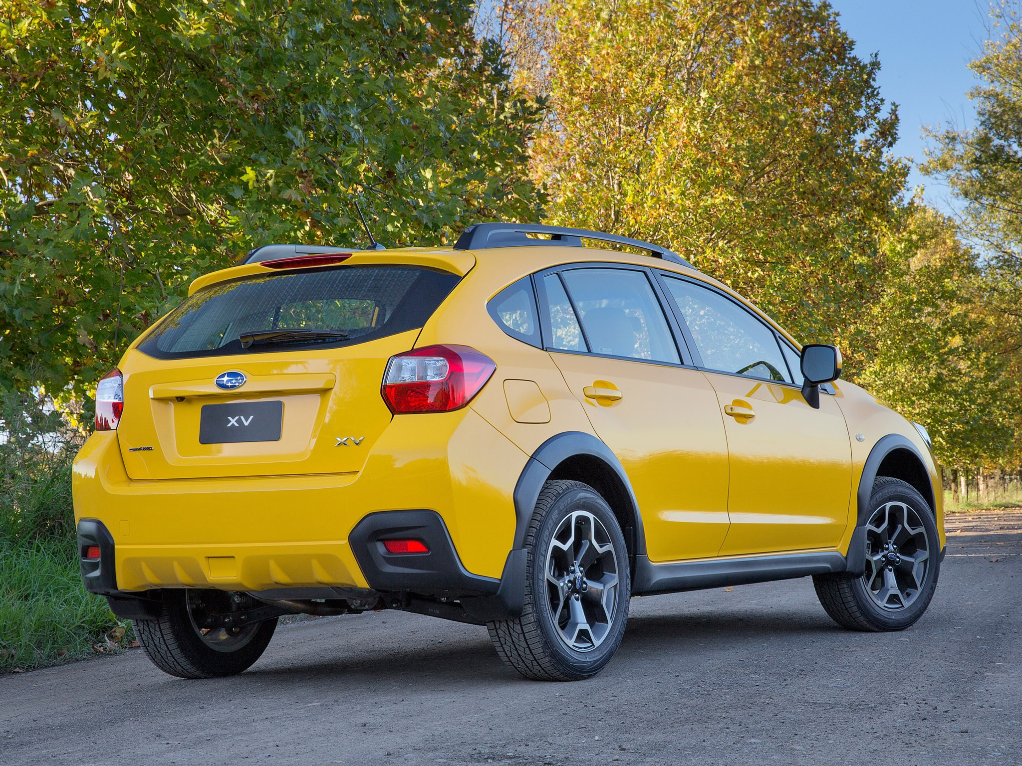 2015 Subaru XV Sunshine Yellow