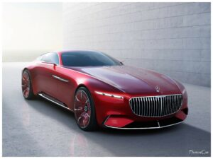 Maybach Vision Mercedes Maybach 6 2016