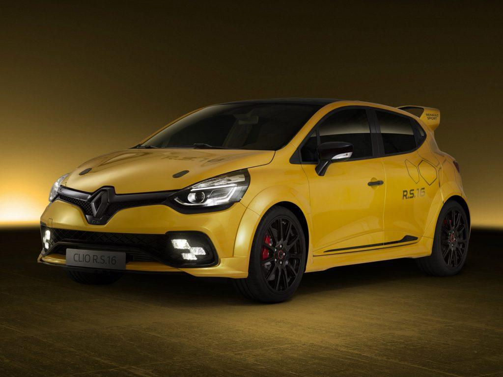 2016 Renault Clio R.S. 16 Concept