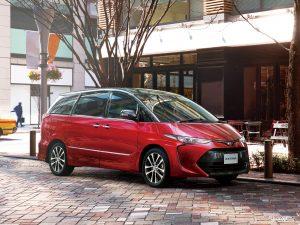 Toyota Estima Aeras 2016