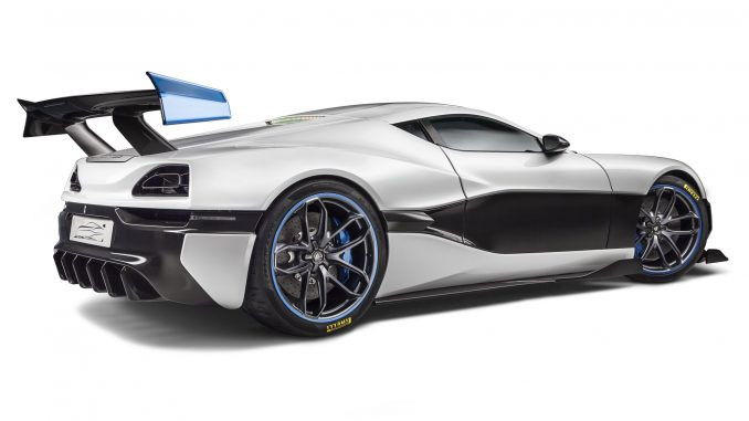 2016 Rimac Concept S électrique