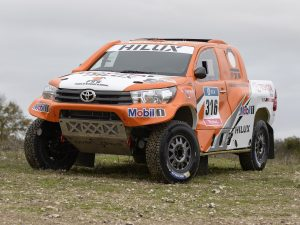 Toyota Hilux Dakar Rally 2016