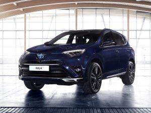 2016 Toyota Rav4 Hybrid Sapphire