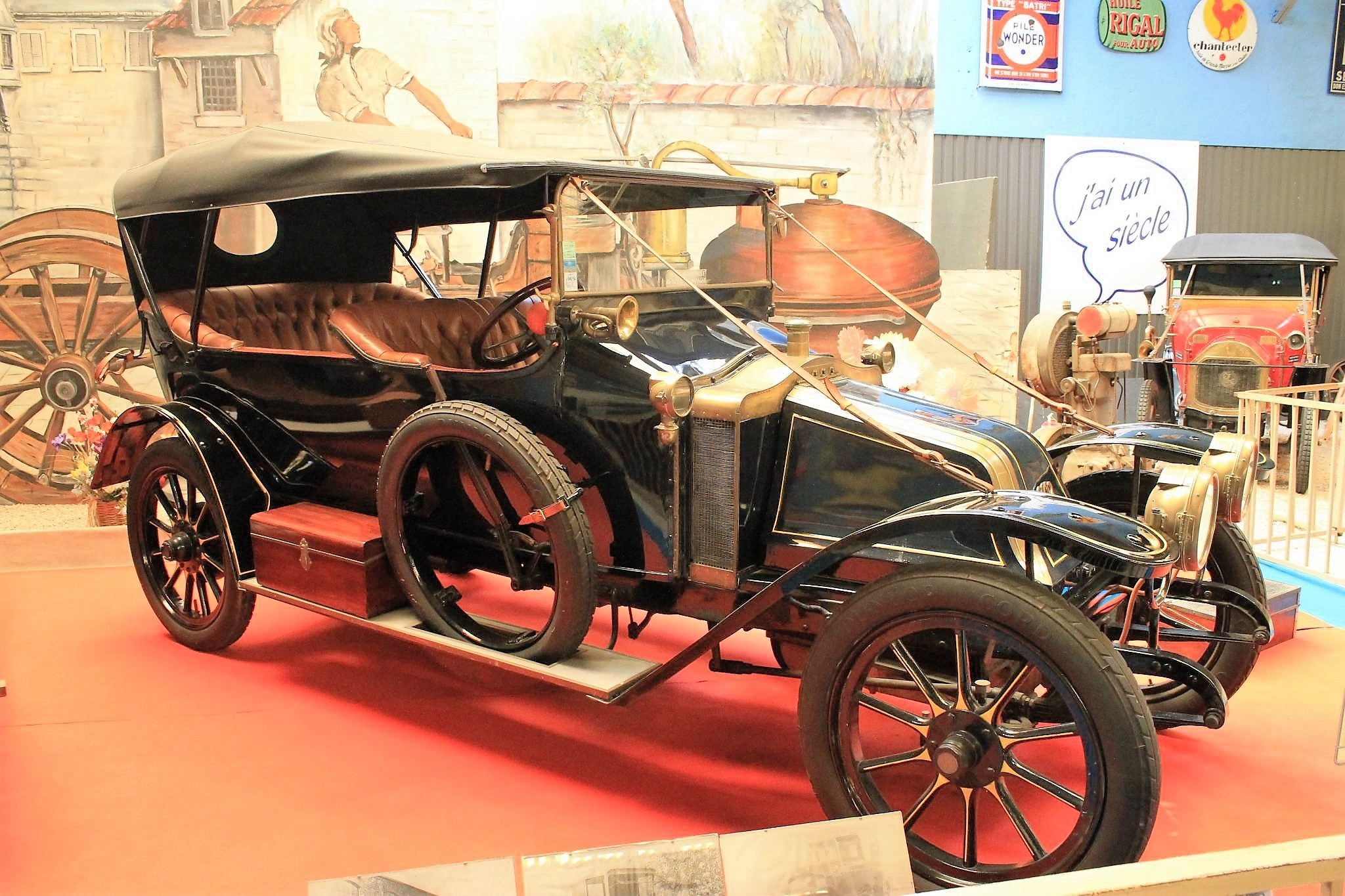 Musée Automobiles de Reims 1908 scar torpedo