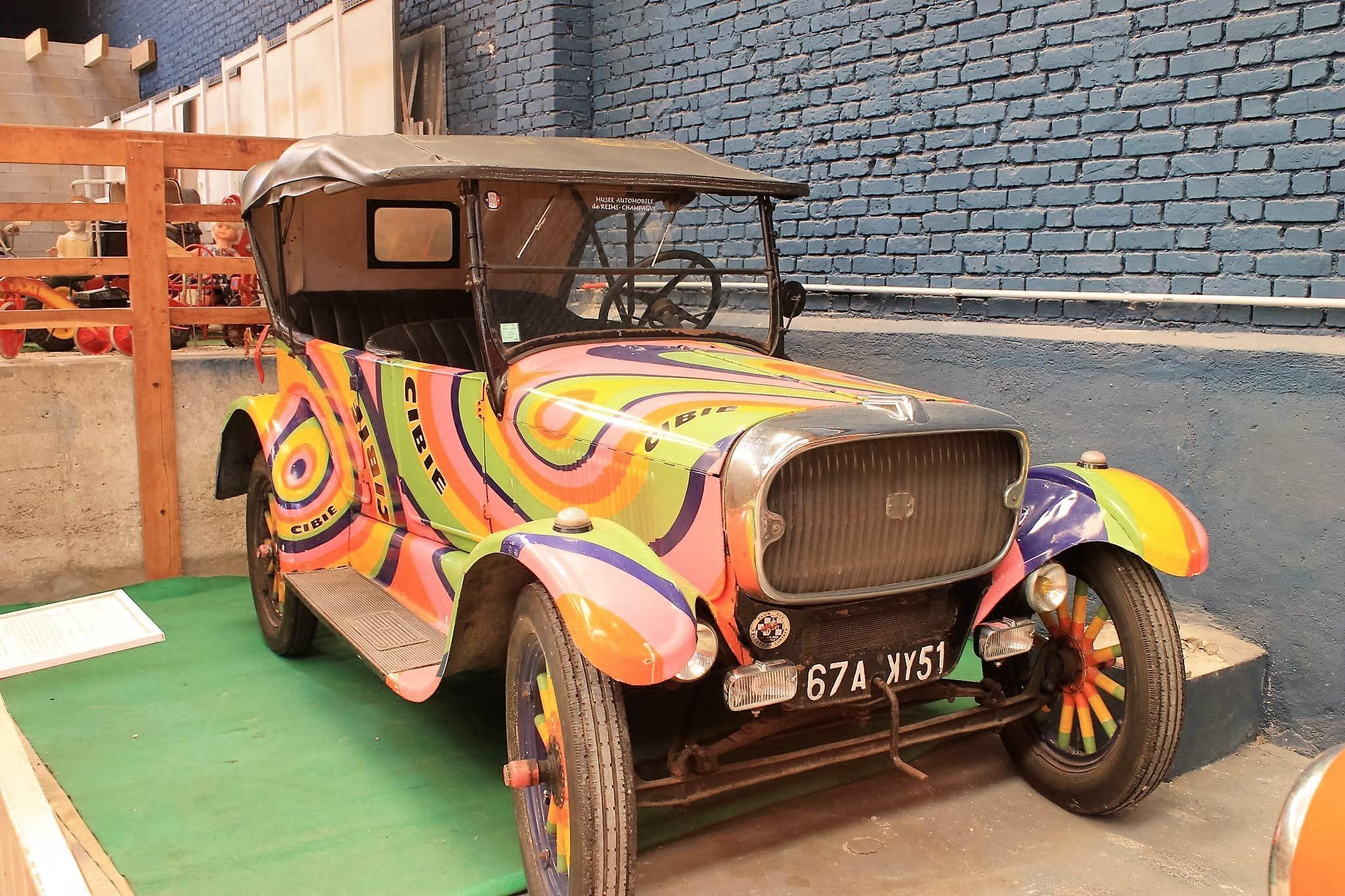 Musée automobile de Reims - Constructeur