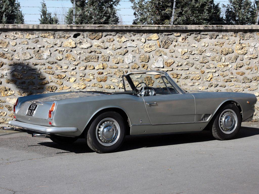 1960 Maserati 3500 Spyder by Vignale
